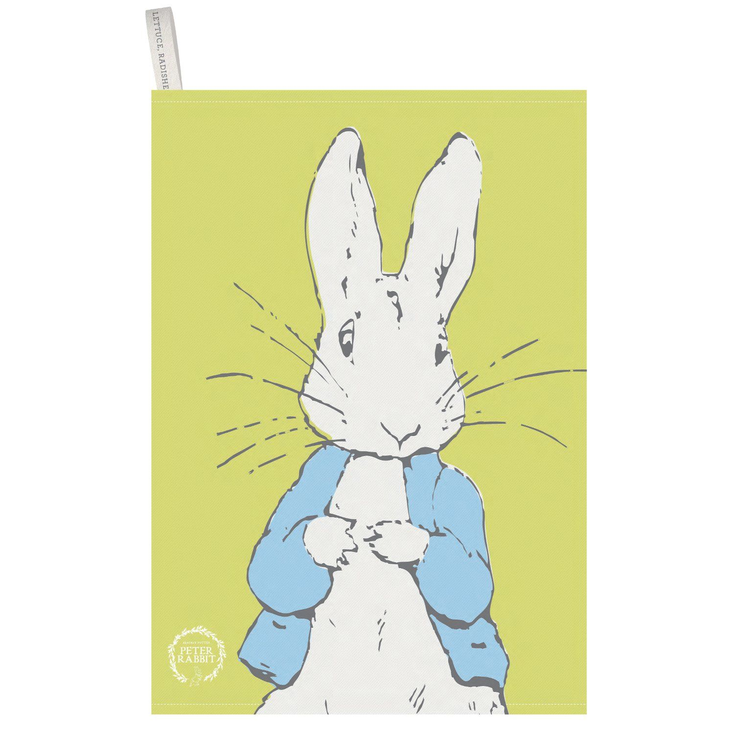 Peter Rabbit Peter Rabbit Contemporary Tea Towel (Line Art Peter)