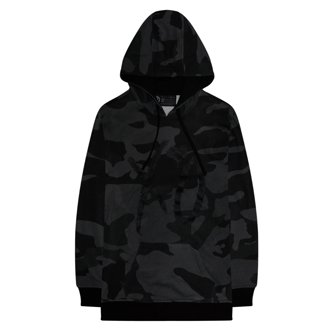 The Weeknd: WHERE DREAMS COME TRUE CAMO HOODIE - S