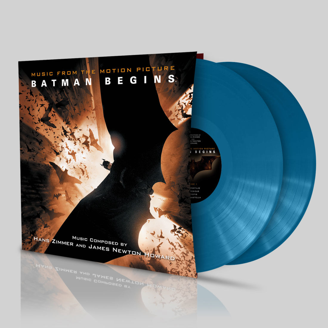 Hans zimmer and james newton howard batman begins ost bhutan blue vinyl
