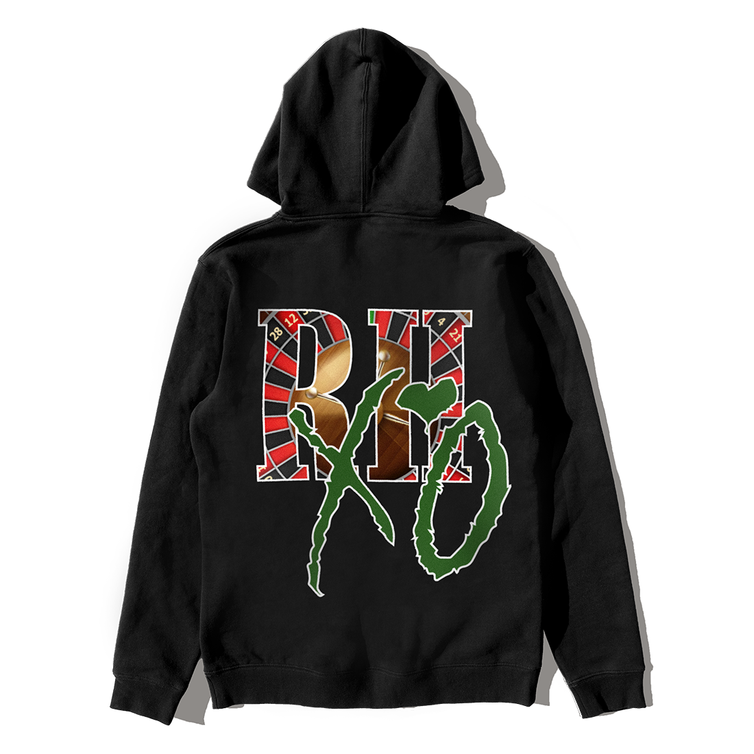 The Weeknd: RHUIGI AFTER HOURS CASINO PULLOVER HOOD