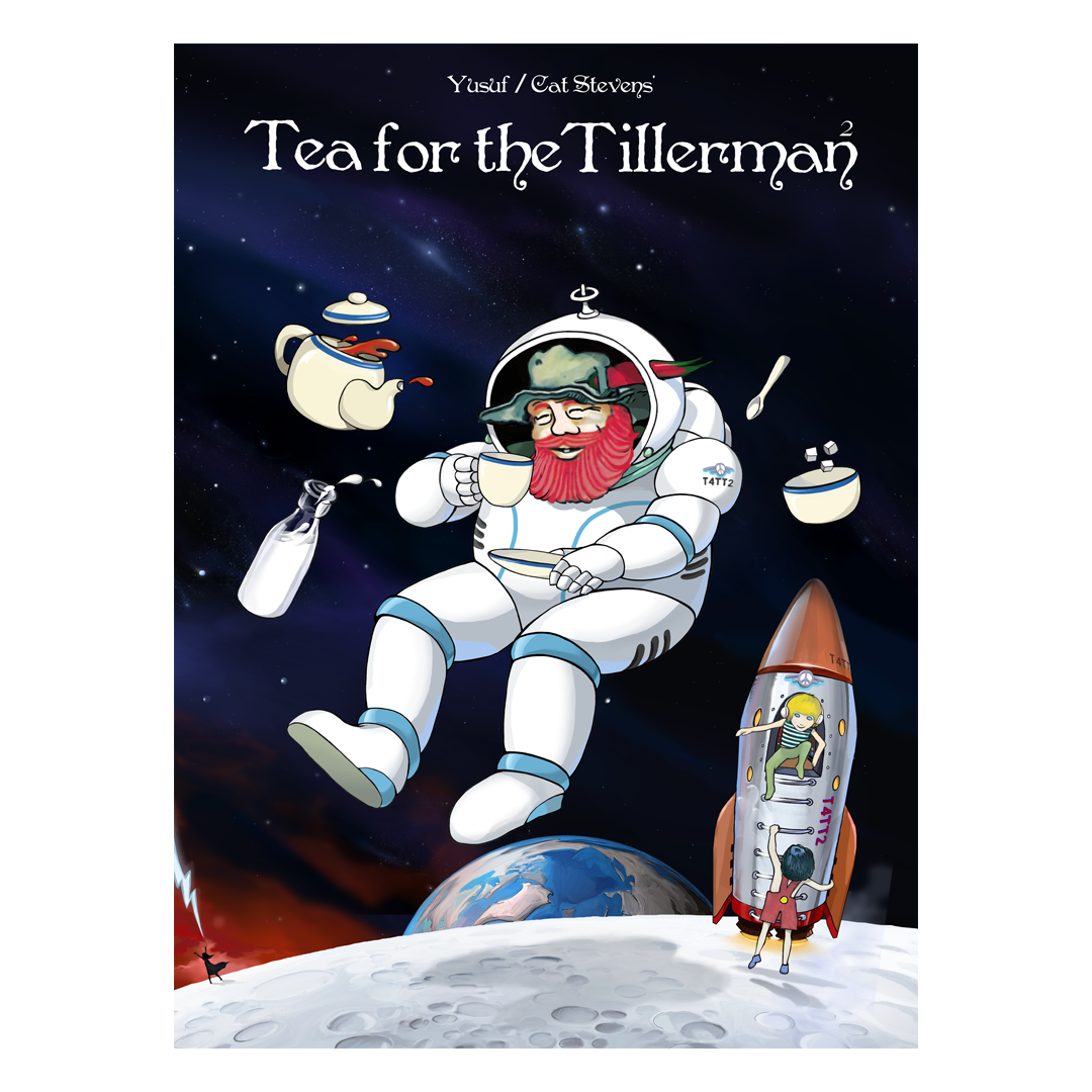 Cat Stevens: Tea For The Tillerman 2 Glow in the Dark Poster