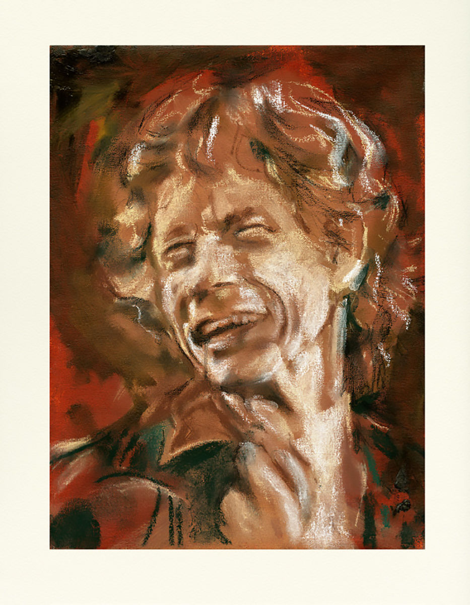 Ronnie Wood: Wall Study - Mick 2021 Edition