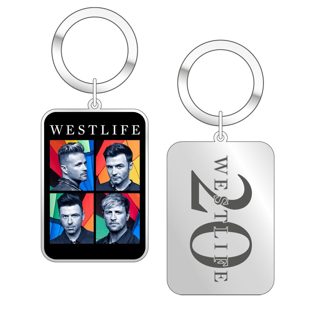 Westlife: Twenty Tour Keyring