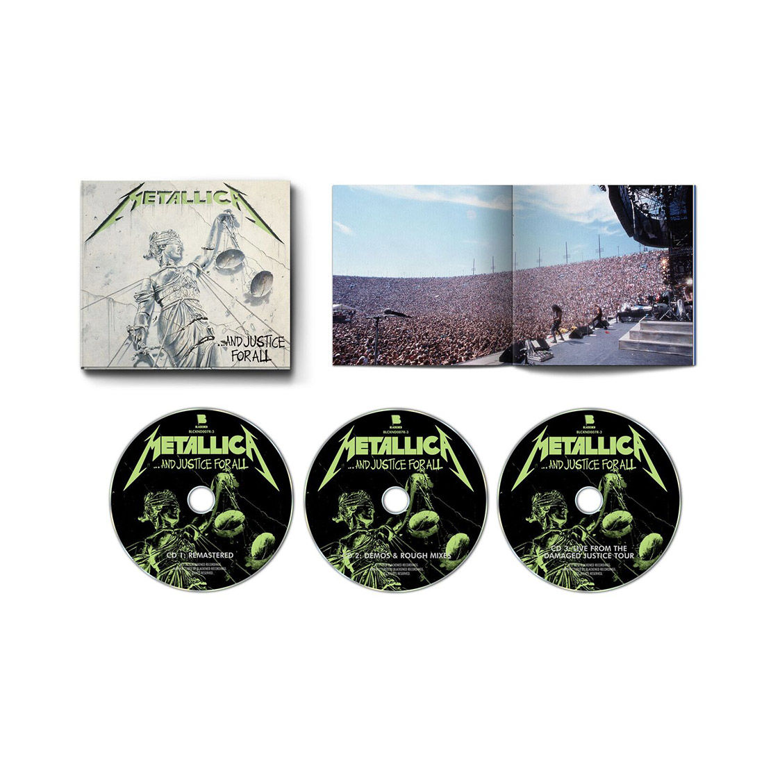 ride the lightning remastered deluxe box set