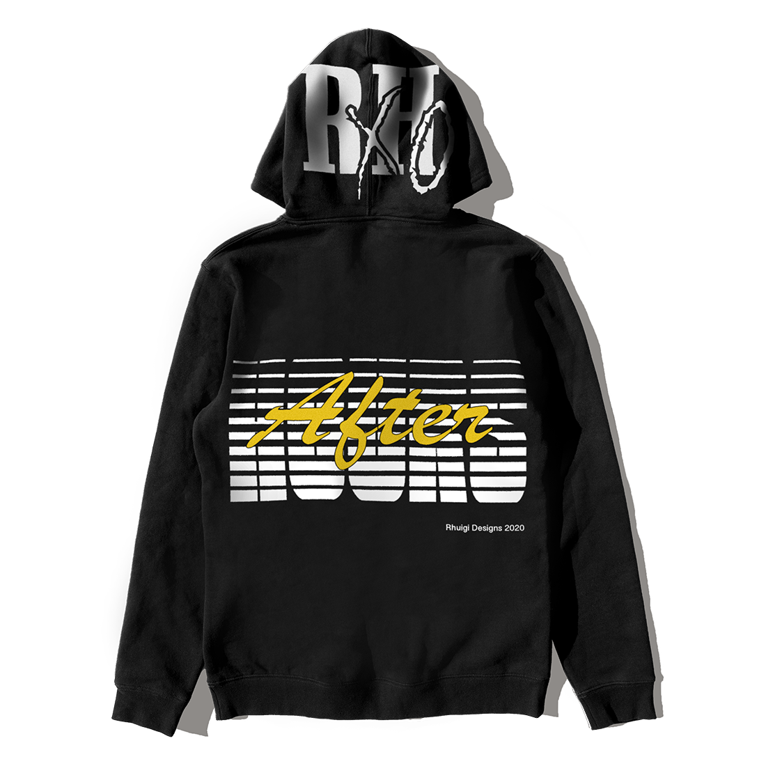 The Weeknd: RHUIGI AFTER HOURS PARADISE PULLOVER HOOD