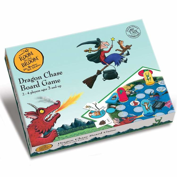 Room on the Broom Room on the Broom Dragon Chase Board Game