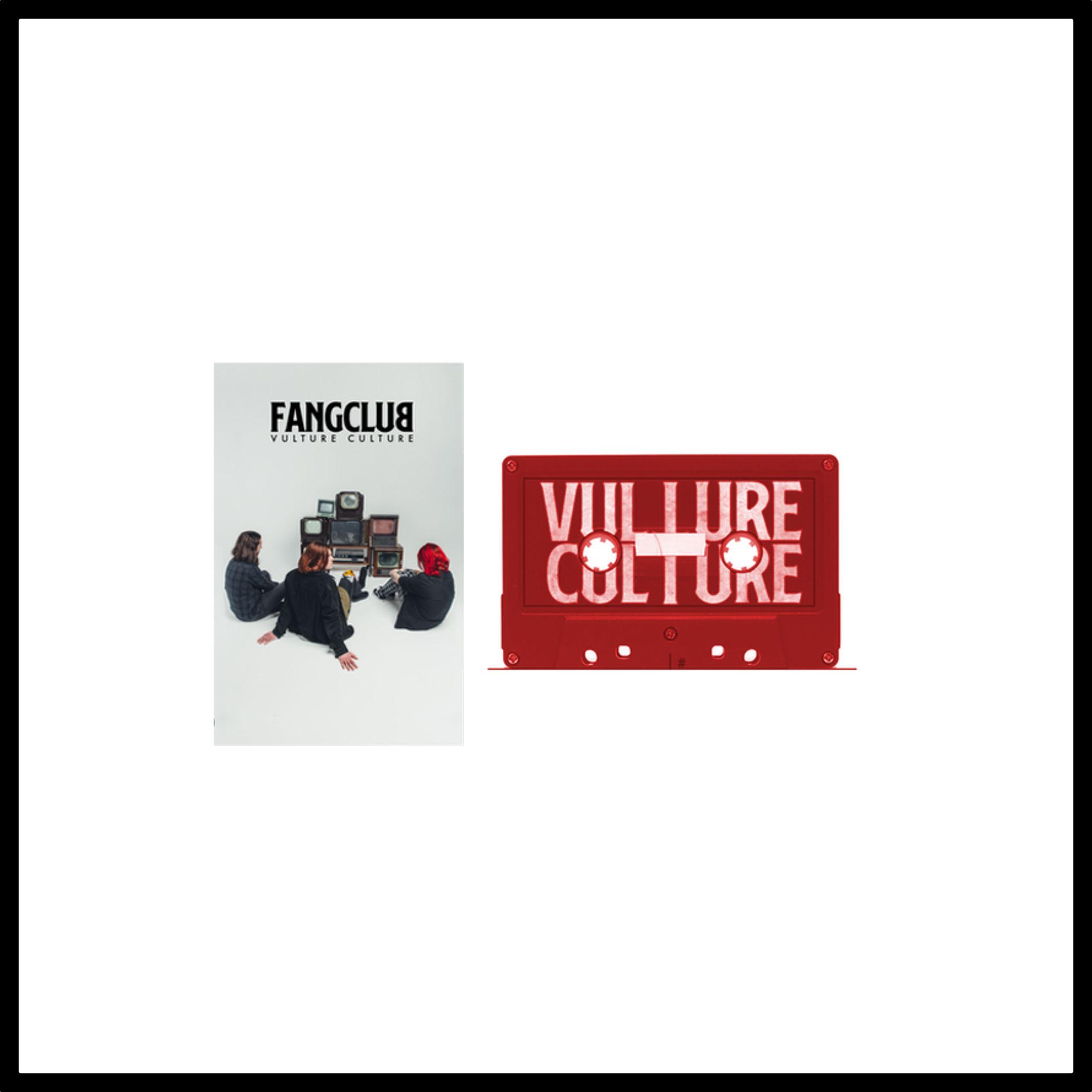 Fangclub: Vulture Culture Cassette