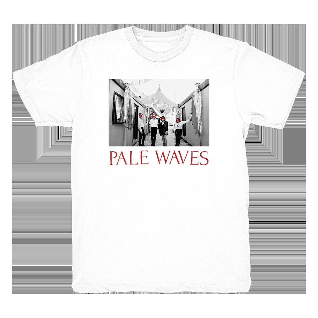 Pale Waves: White Band Photo Tee