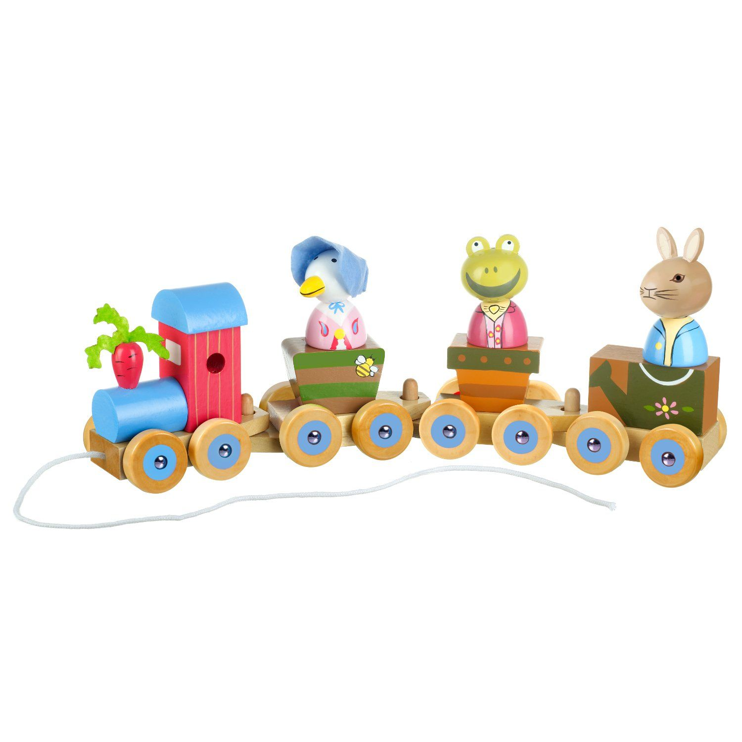 Peter Rabbit Peter Rabbit Wooden Puzzle Train