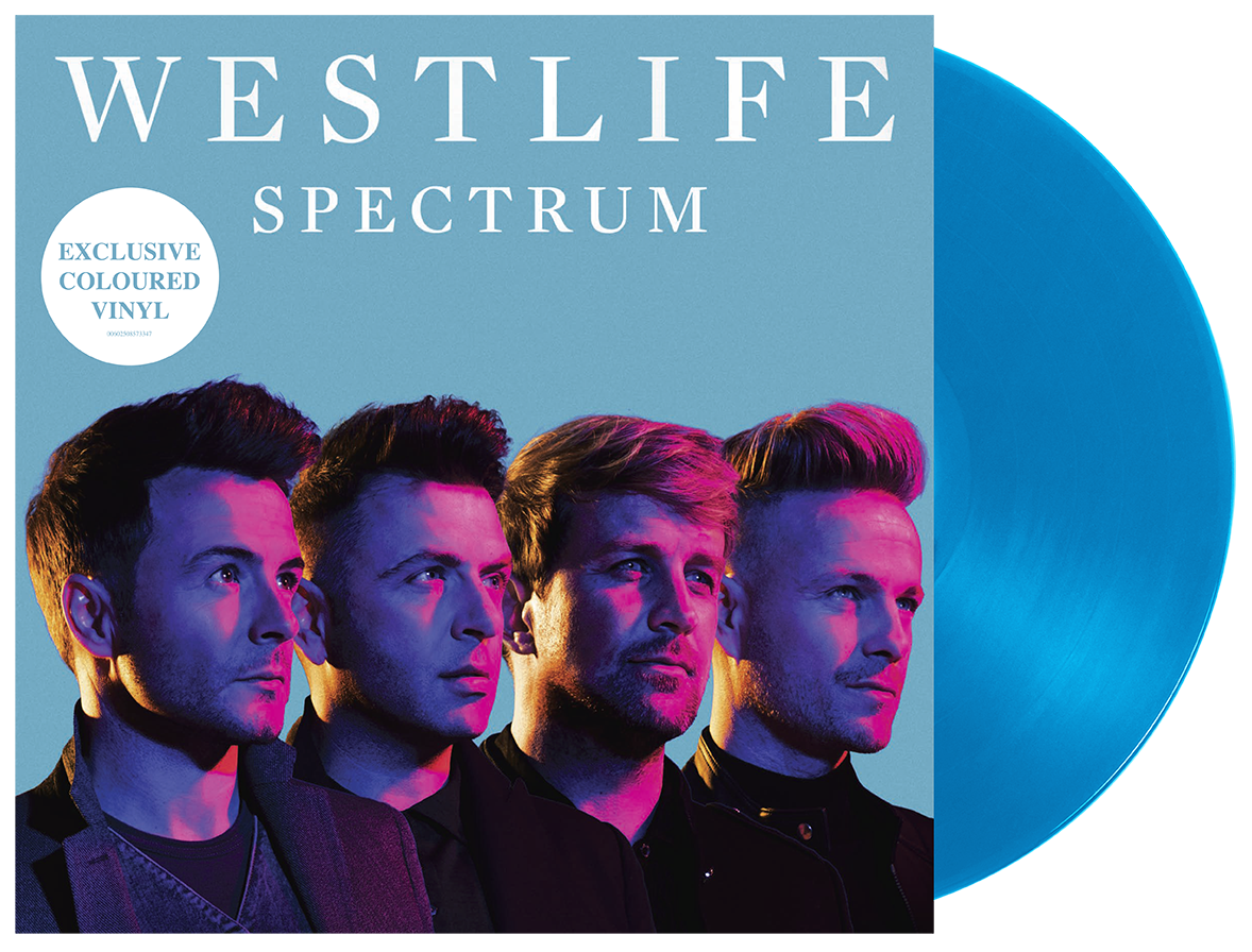 Westlife: Spectrum Limited Edition Blue Vinyl