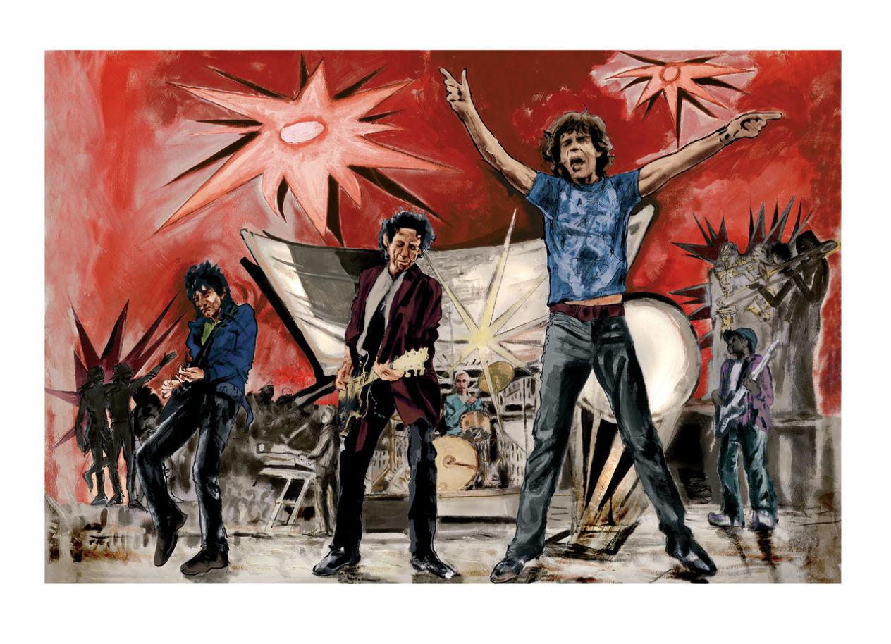 Ronnie Wood: Big Bang IV - Collectors Series