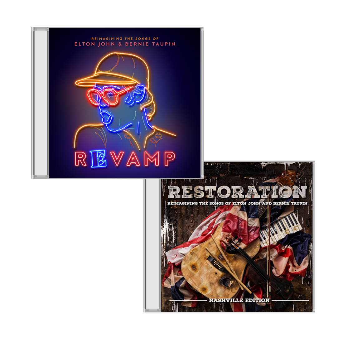 Elton John: 'Revamp' & 'Restoration' CD Collection