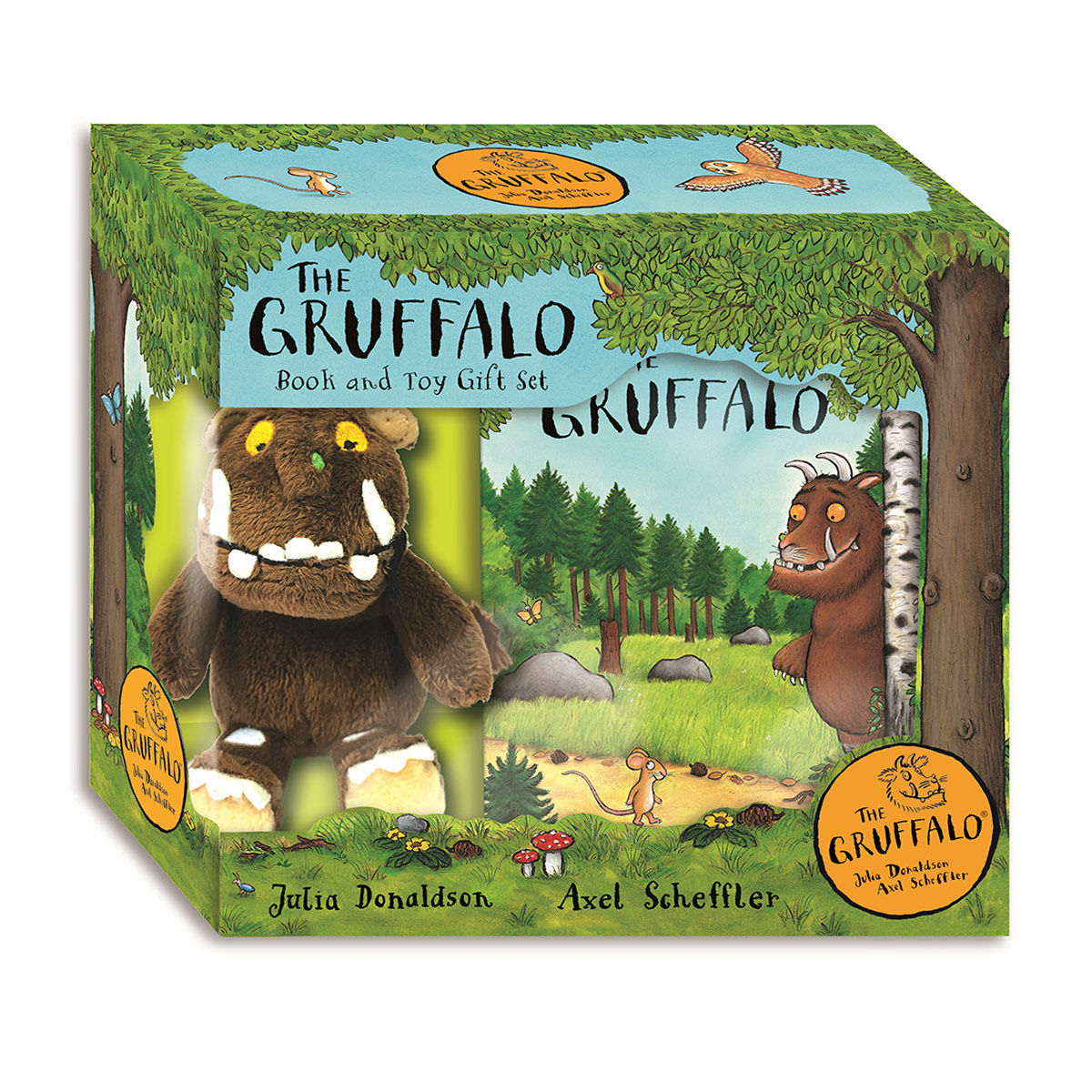 Children's Books The Gruffalo The Gruffalo Book and Toy Gift Set