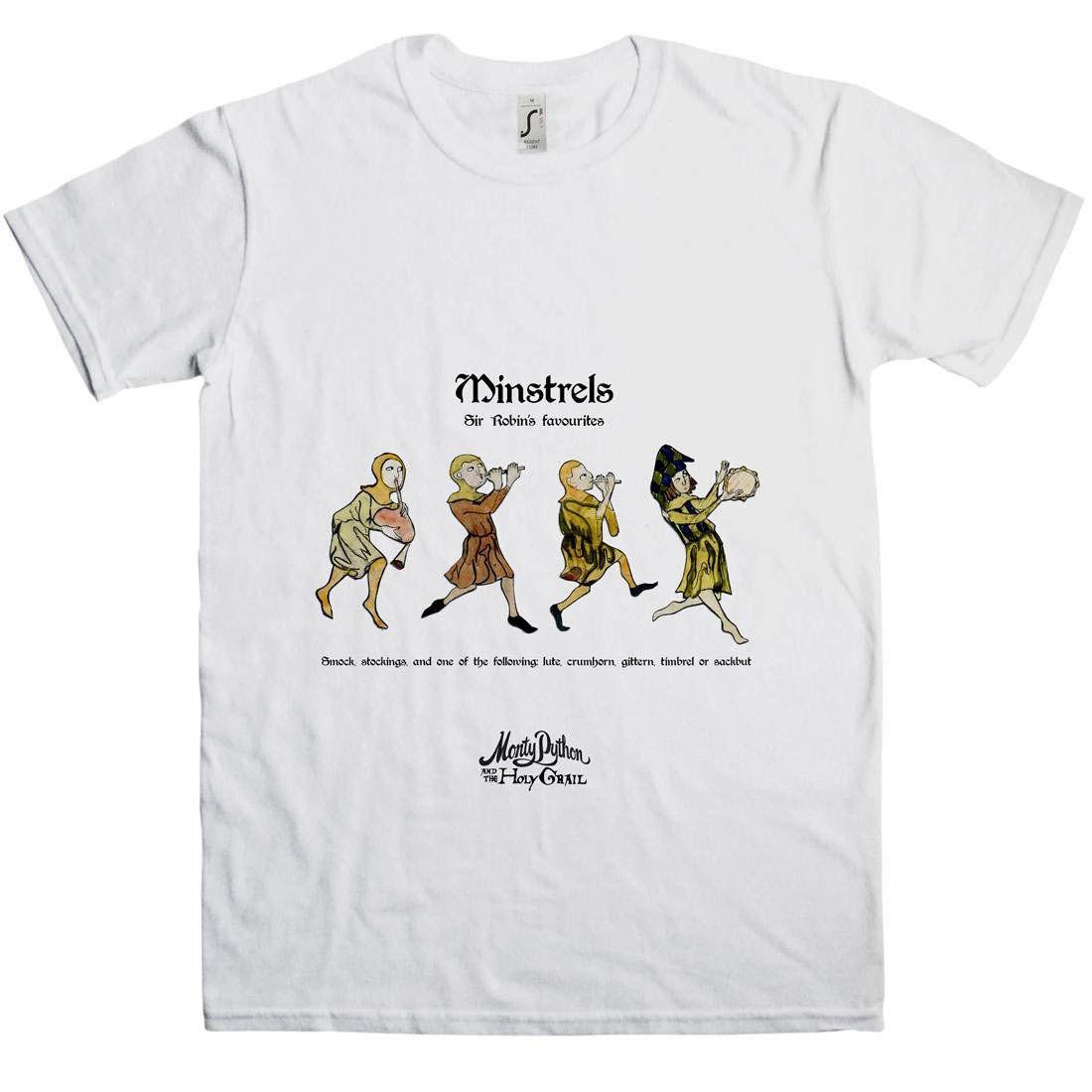 edb0e68cf Monty Python: Holy Grail Minstrels T-Shirt