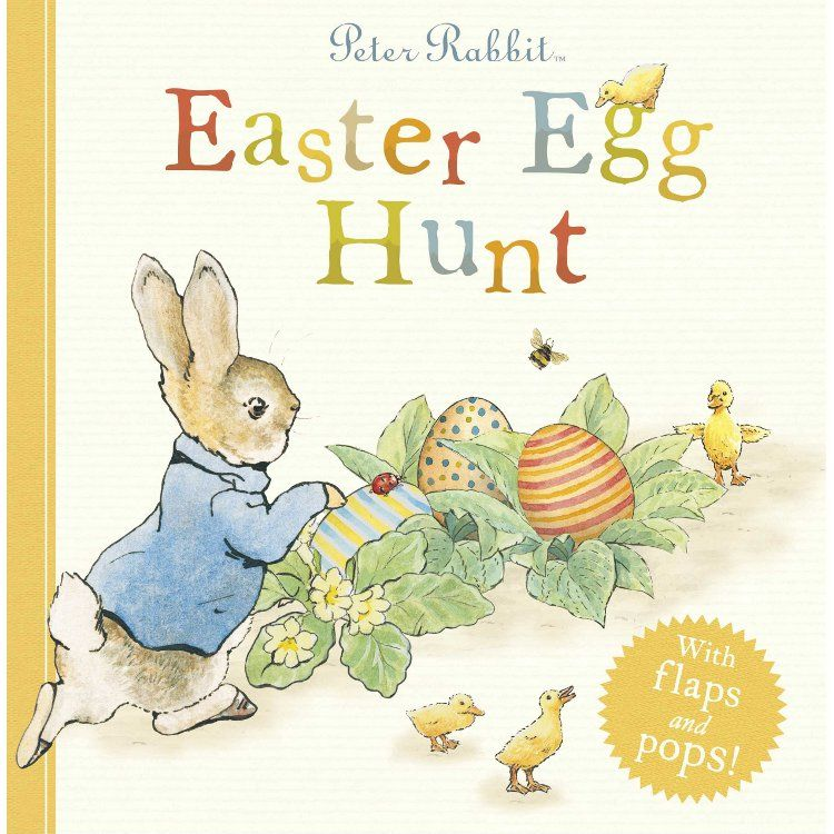 Peter Rabbit Peter Rabbit Easter Egg Hunt (Hardback)