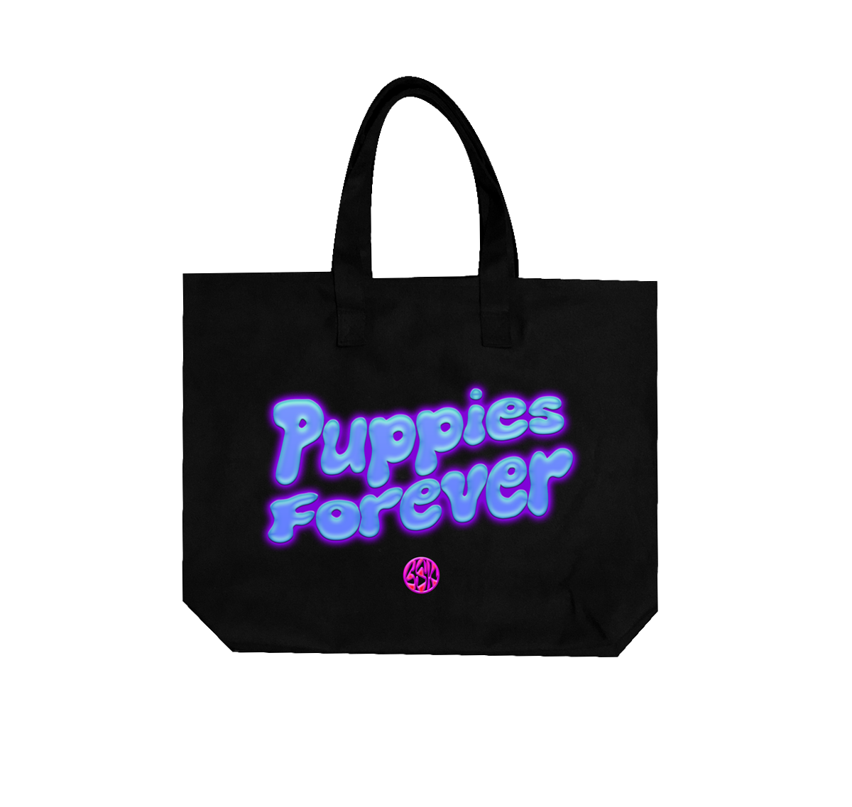 BLACKSTARKIDS: Puppies Forever Oversized Tote
