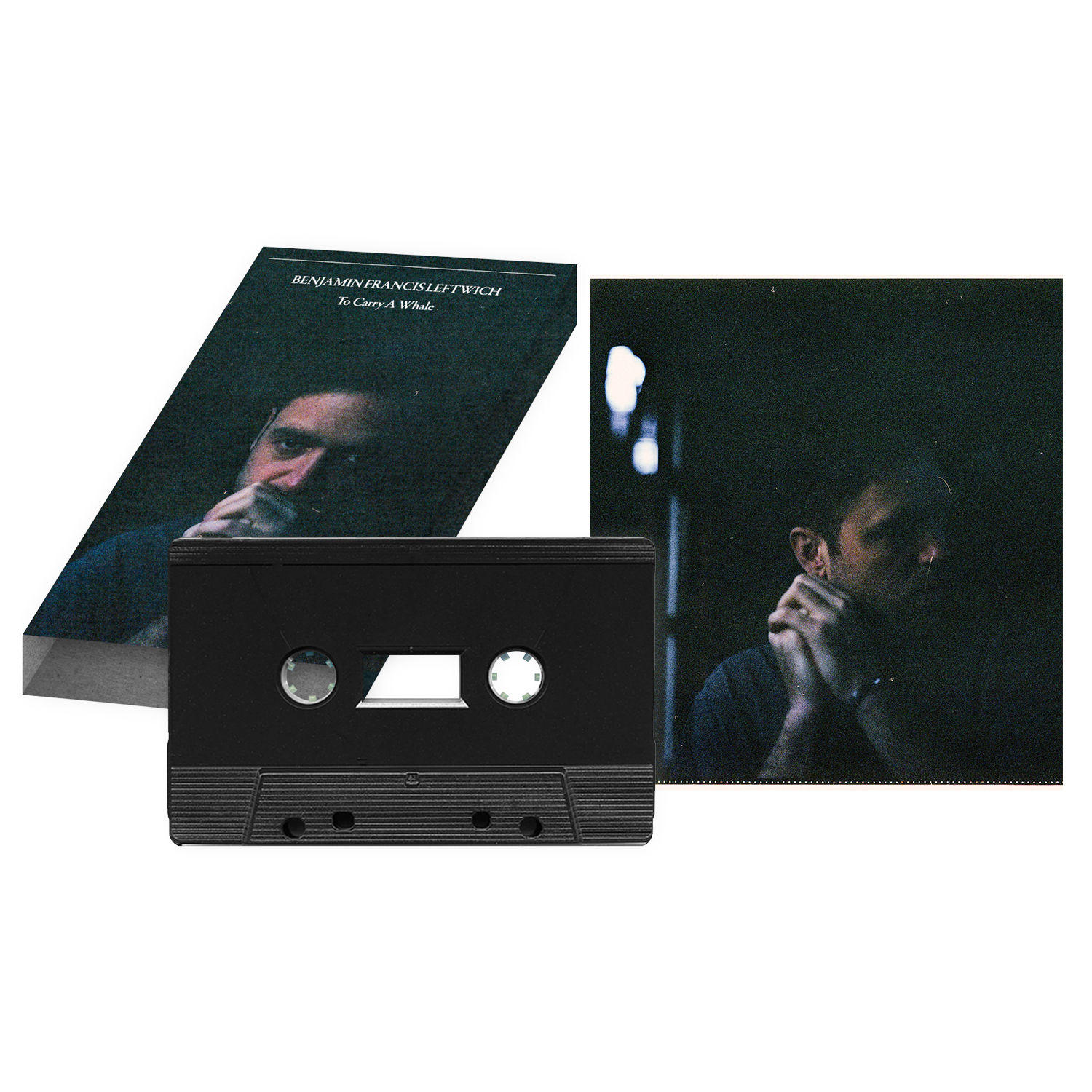 Benjamin Francis Leftwich: To Carry A Whale Cassette & Signed Art Card