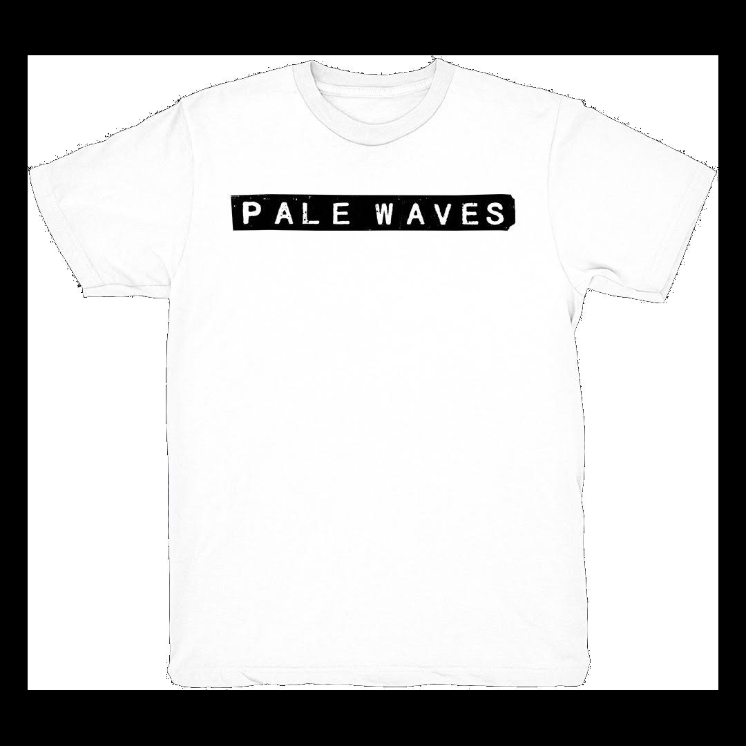Pale Waves: White Tee
