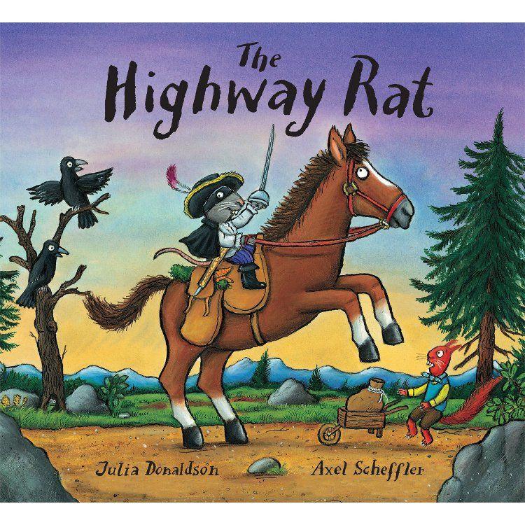 Children's Books Donaldson and Scheffler The Highway Rat (Board Book)