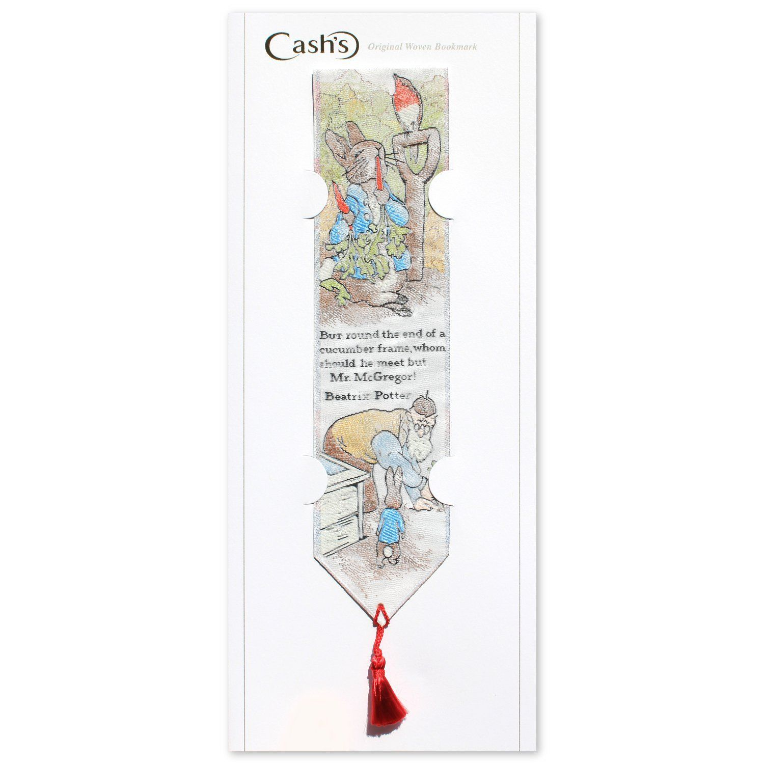 Peter Rabbit Peter Rabbit Woven Bookmark