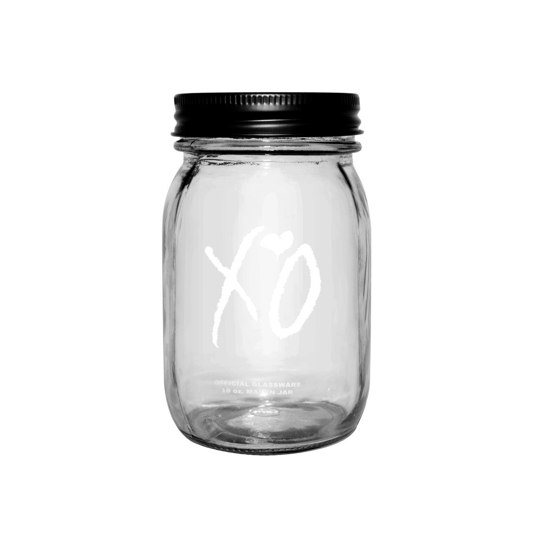 The Weeknd: XO CLASSIC LOGO 16 OZ. MASON JAR