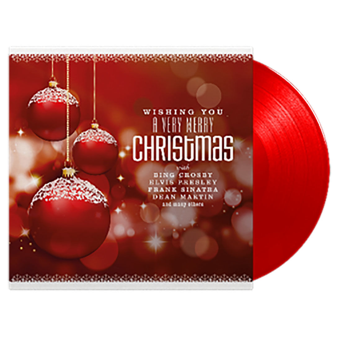 various artists wishing you a very merry christmas red vinyl