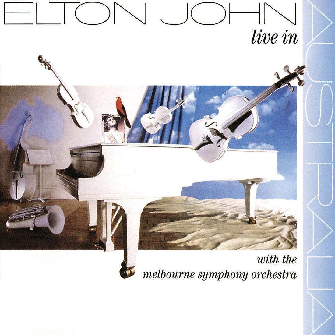 Elton John: Live In Australia With The Melbourne Symphony: Double LP