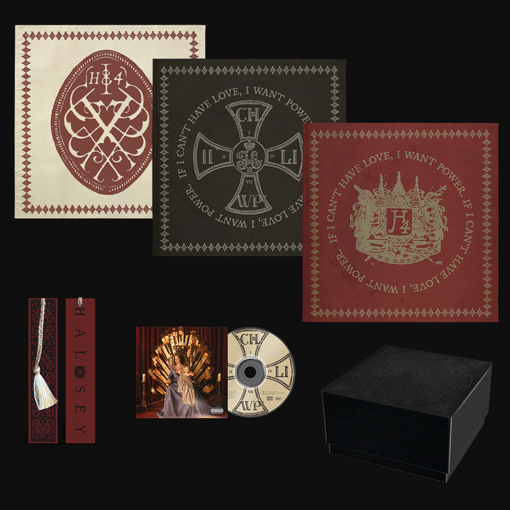 Halsey: If I Can't Have Love, I Want Power - Limited Edition Bandana & CD Box Set