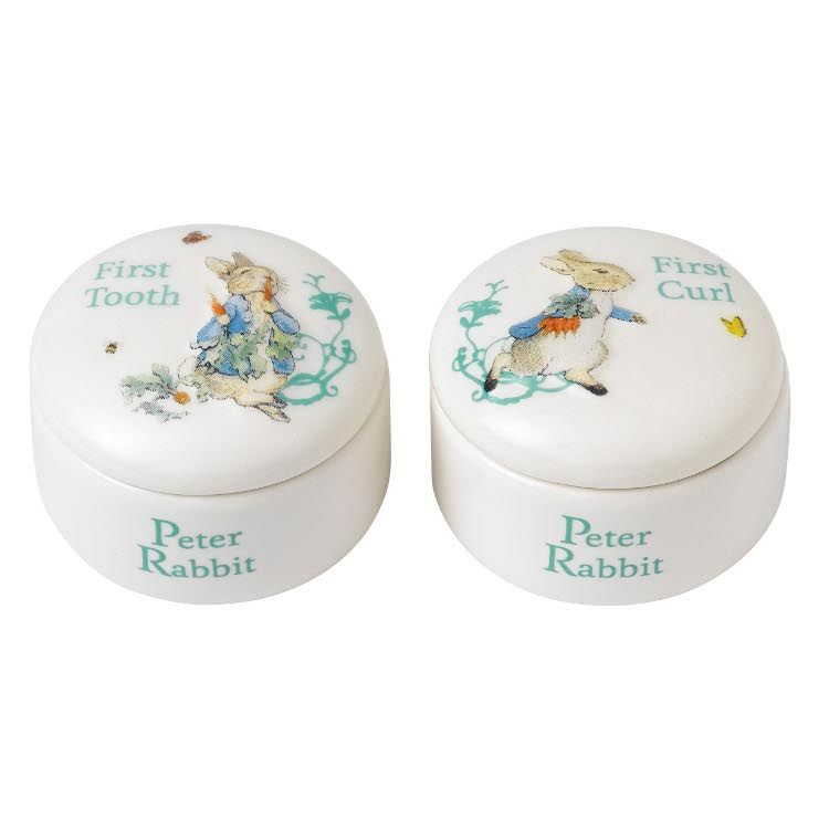 Peter Rabbit Peter Rabbit First Curl and Tooth Box