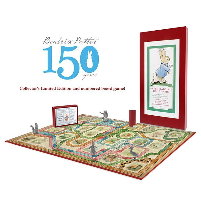 Peter Rabbit, Beatrix Potter Beatrix Potter Deluxe Limited edition Peter Rabbit Chase Game
