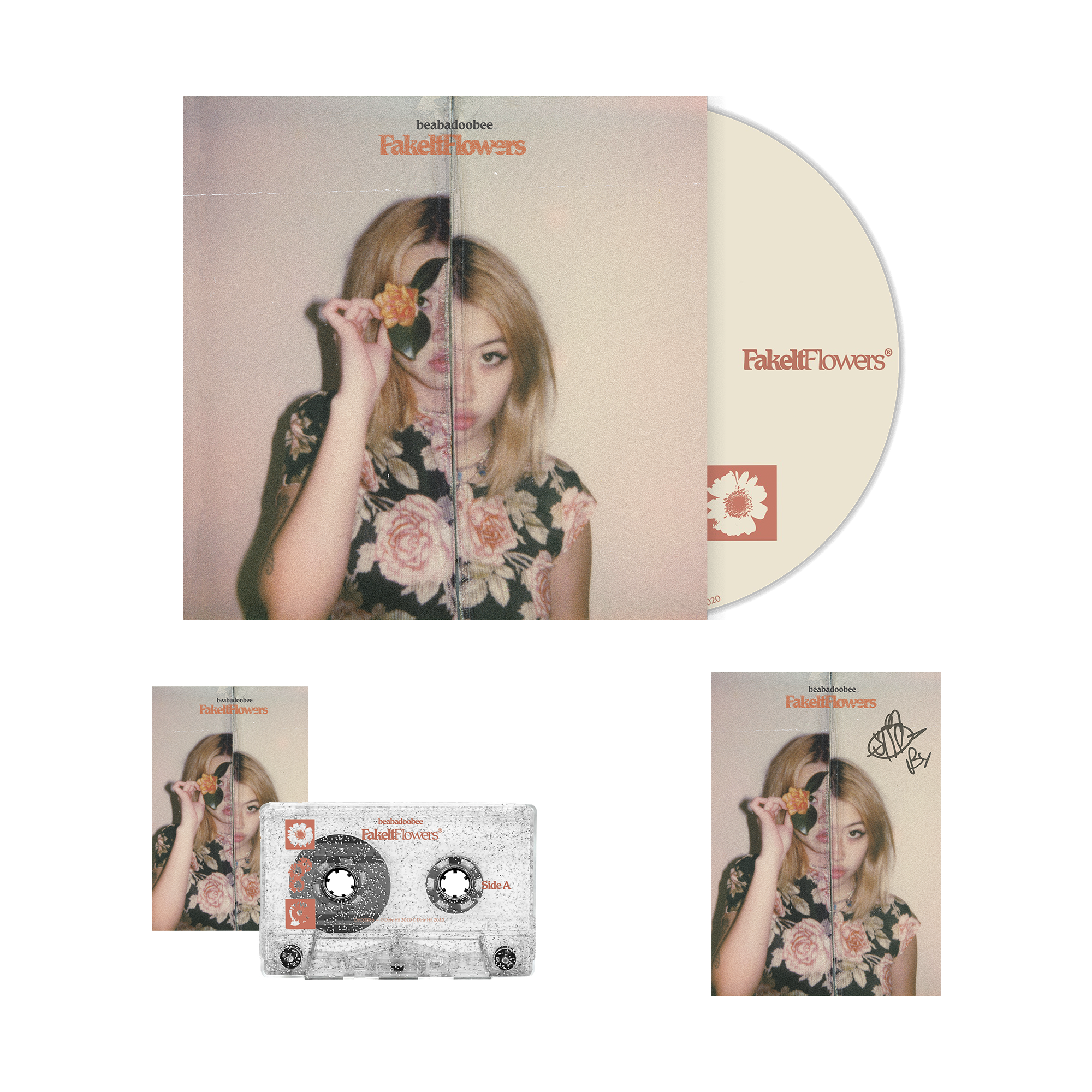 Beabadoobee: Fake It Flowers CD Bundle (Signed)