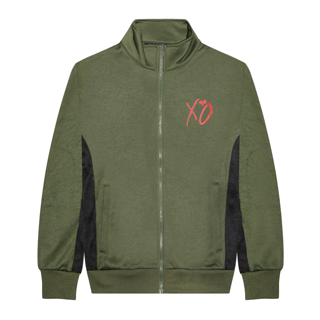 The Weeknd: XO CLASSIC LOGO HEAVYWEIGHT TRACK JACKET - S