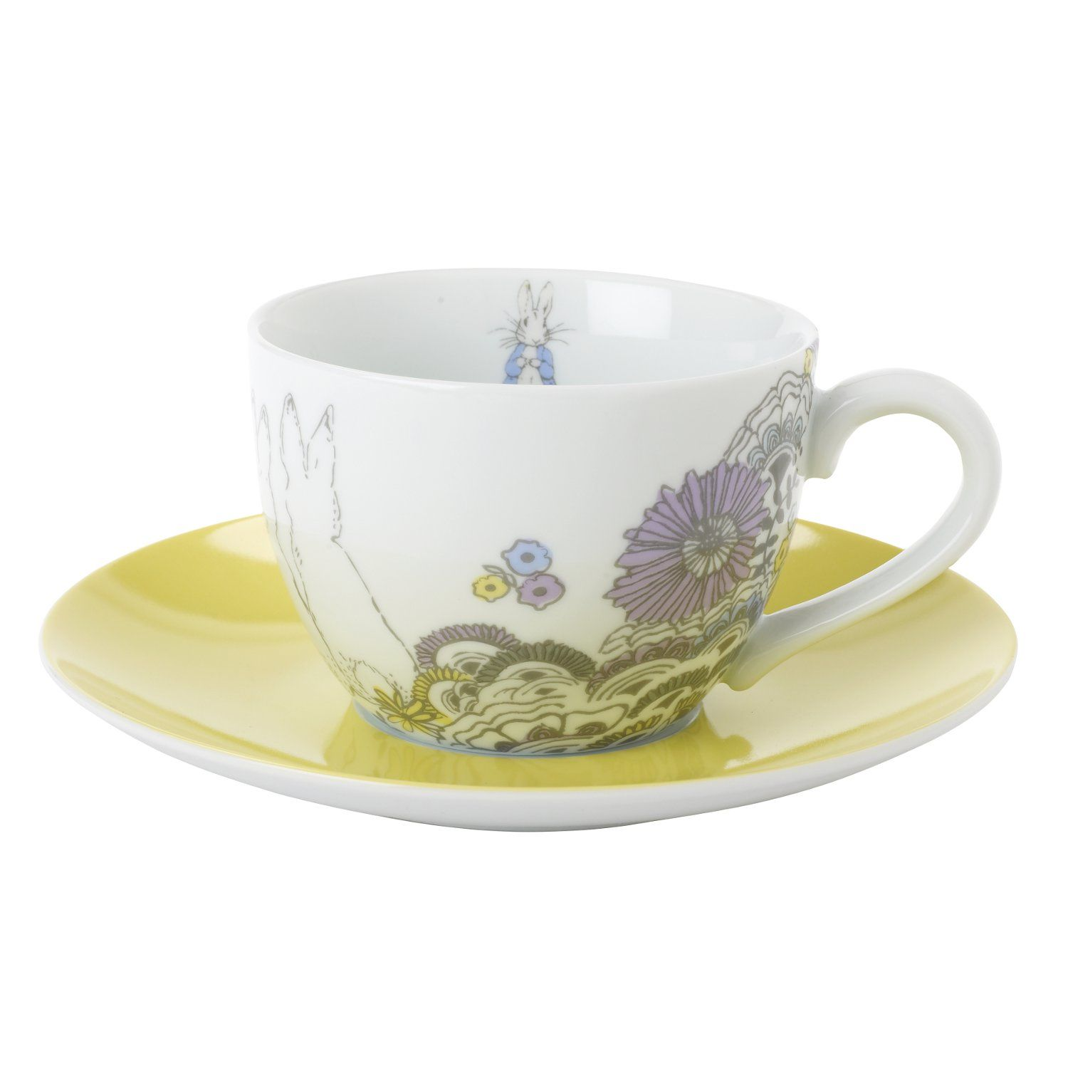 Peter Rabbit Peter Rabbit Contemporary Cup and Saucer