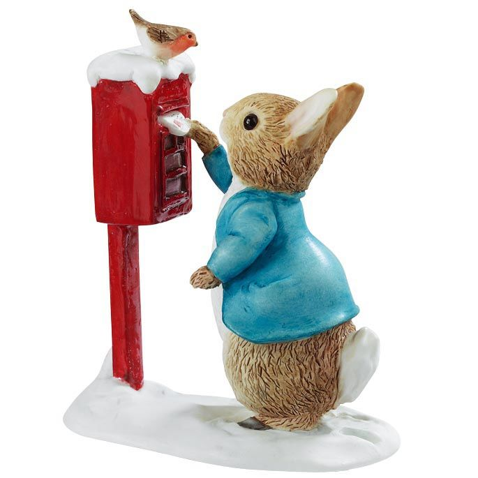Peter Rabbit Peter Rabbit Posting a Letter - 7.5cm Miniature Figurine