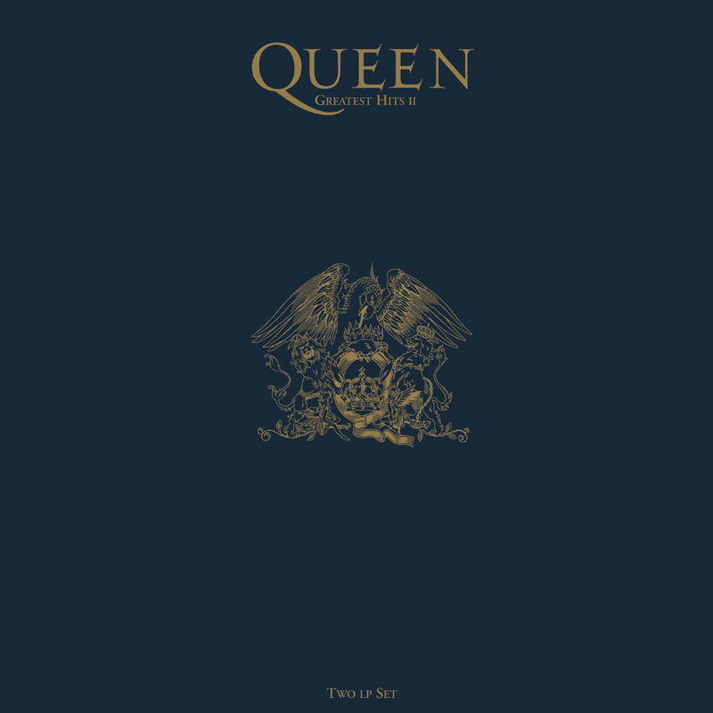 3e57c8b1a Queen: Greatest Hits II 180gm Heavyweight Vinyl