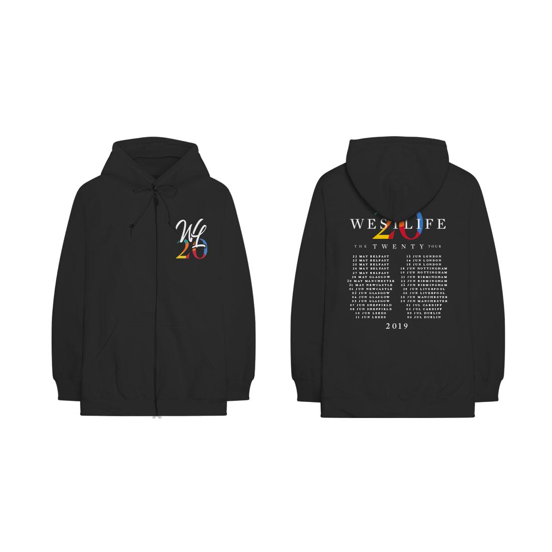 Westlife: Twenty Tour Hoodie