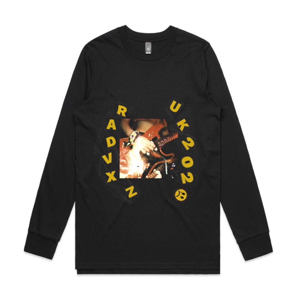 Beabadoobee: Black RADVXZ UK & IE 2020 Tour Longsleeve