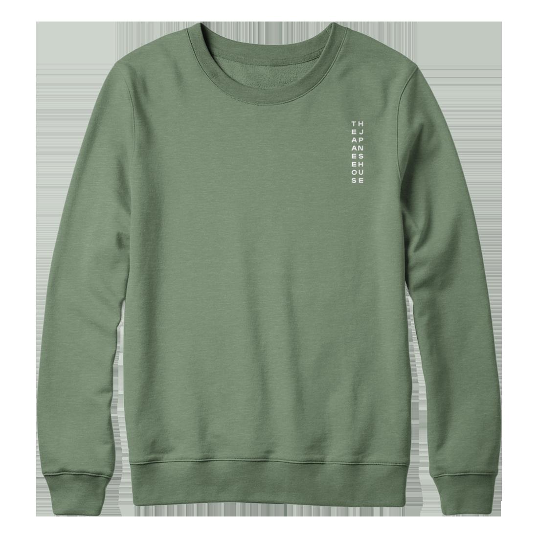 The Japanese House: Green Longsleeve Sweater