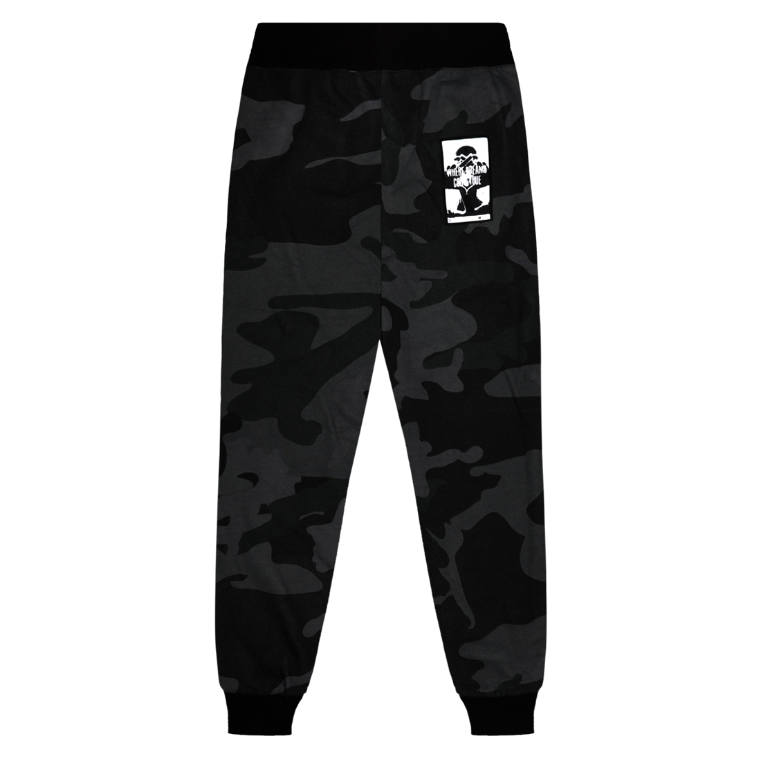 The Weeknd: WHERE DREAMS COME TRUE CAMO SWEATPANTS - S