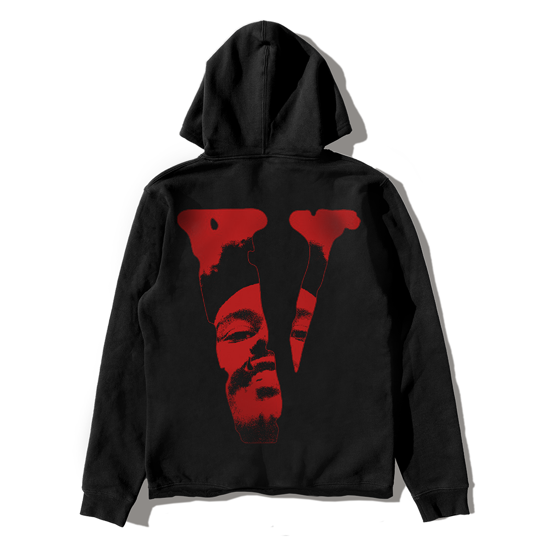 The Weeknd: VLONE AFTER HOURS BLOOD DRIP PULLOVER HOOD BLACK