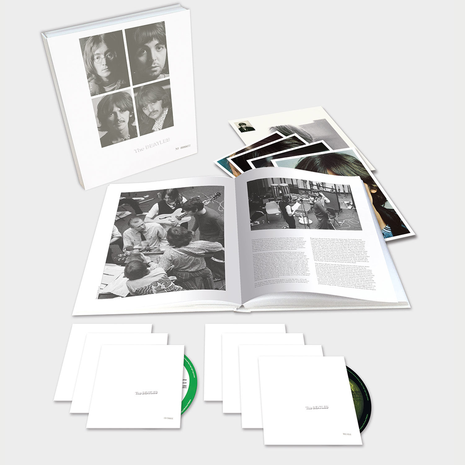 The Beatles White Album CD Box Set