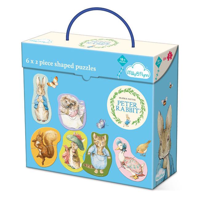 Peter Rabbit Peter Rabbit 6 x 2 Piece Puzzles