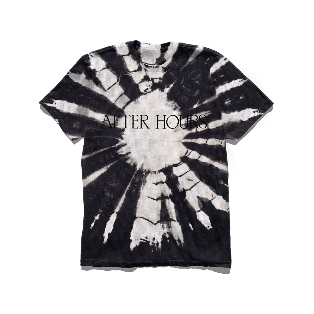 The Weeknd: AFTER HOURS BLACK DYE TEE