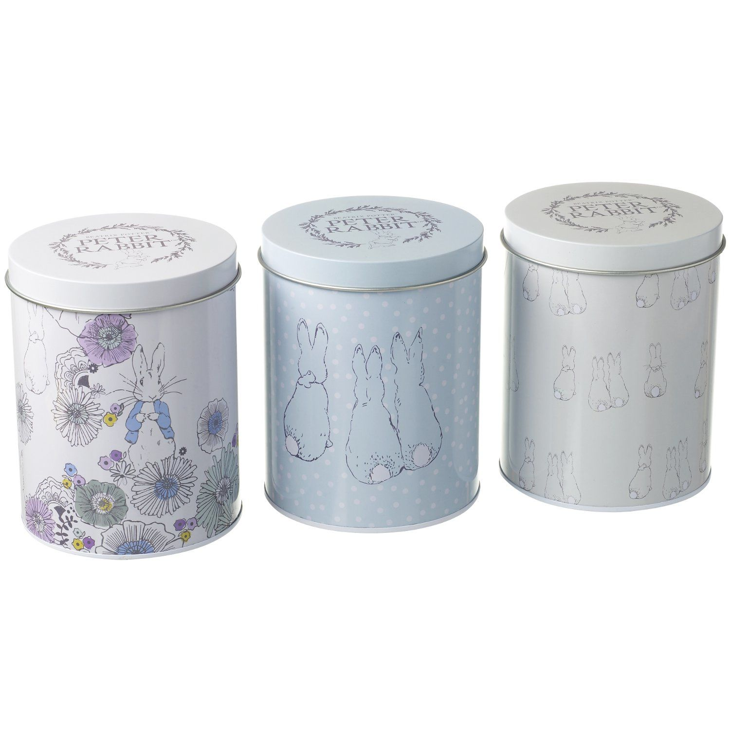 Peter Rabbit Peter Rabbit Contemporary Storage Tins (Set of 3)