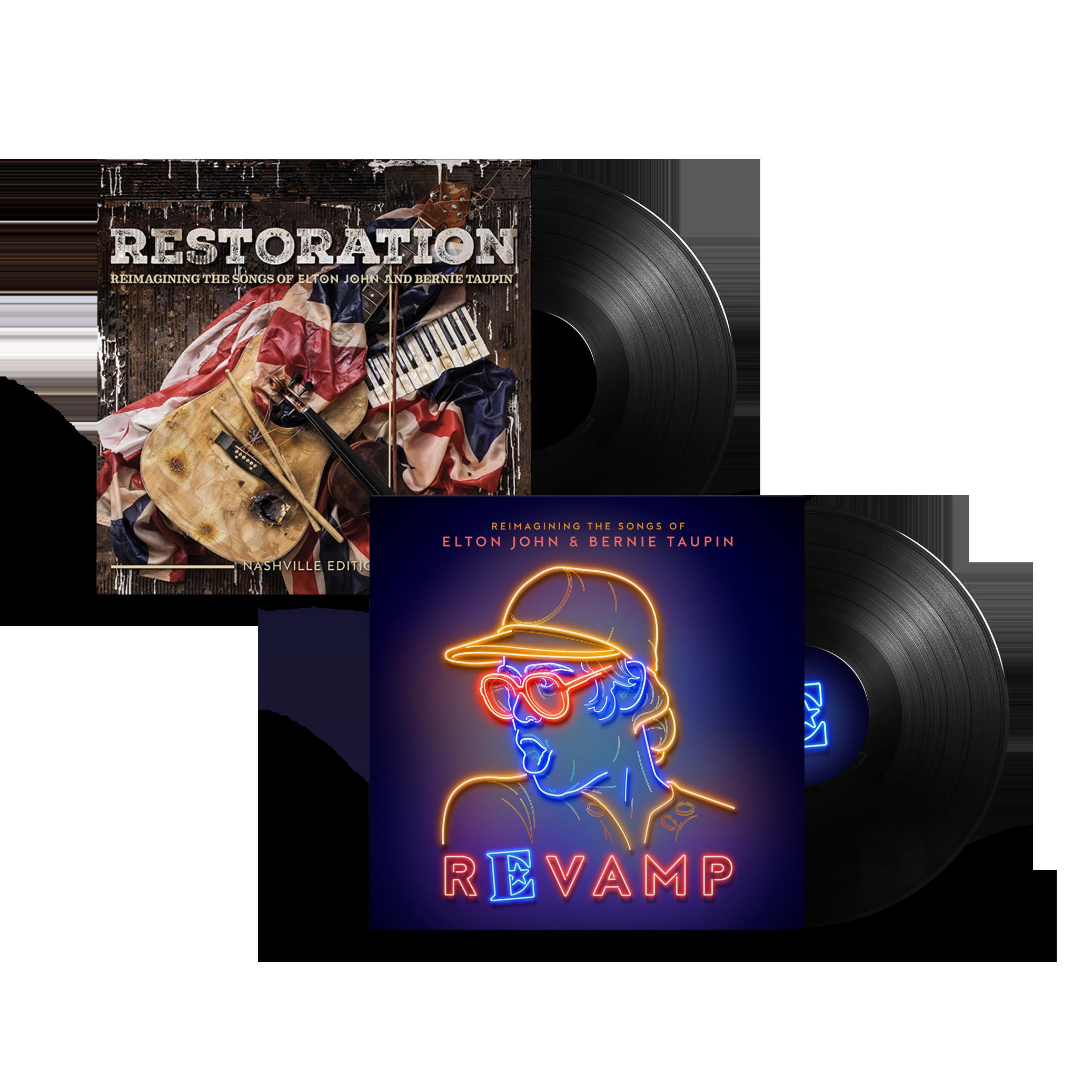 Elton John: 'Revamp' & 'Restoration' LP Collection