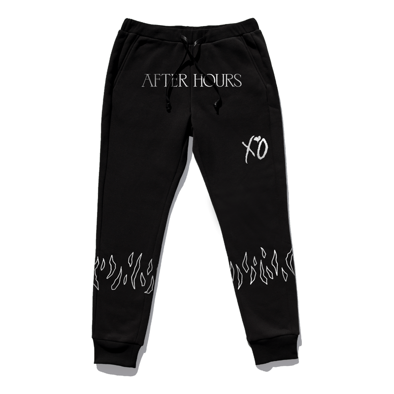 The Weeknd: NEVER COMING DOWN SWEATPANTS