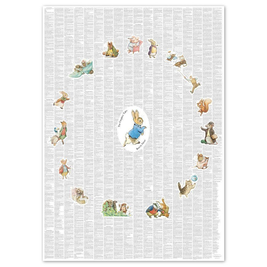 Peter Rabbit The Complete Peter Rabbit and Friends Illustrated Poster