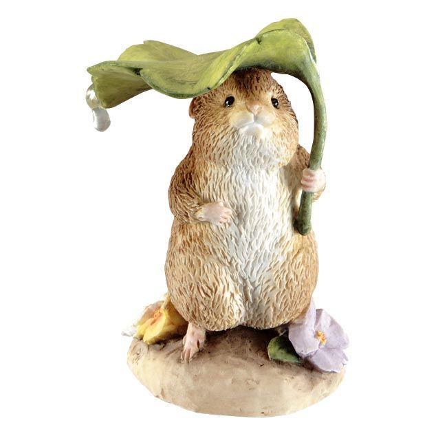 Timmy Willie Timmy Willie Under Leaf - 6.5cm Miniature Figurine - Peter Rabbit Gifts