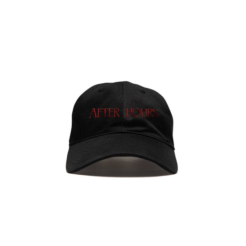 The Weeknd: AFTER HOURS XO LOGO VELCRO CAP