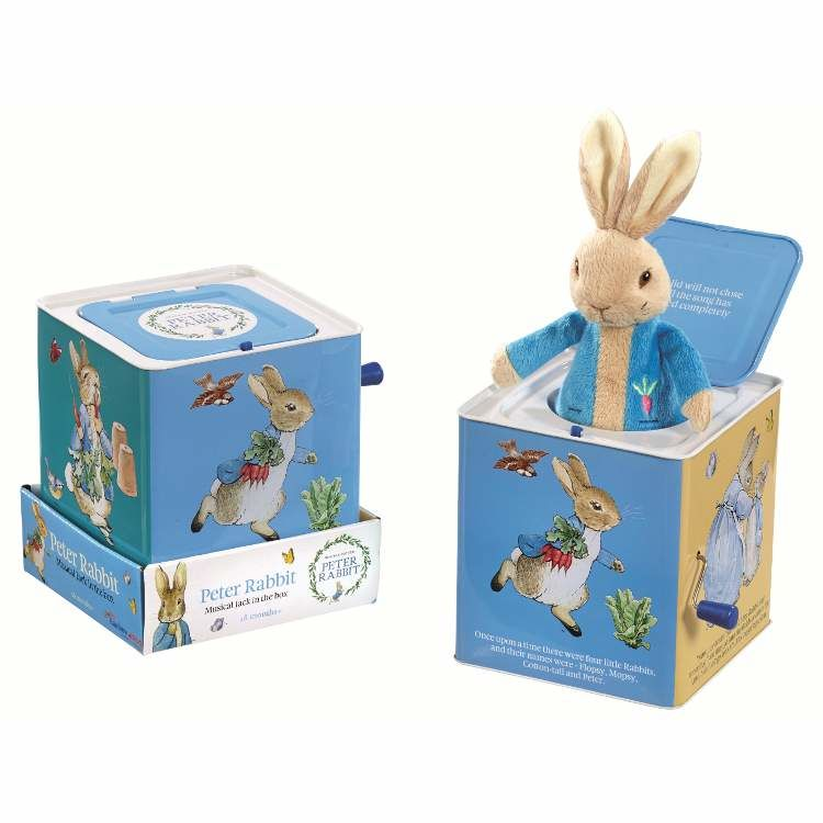 Peter Rabbit Peter Rabbit Jack In A Box